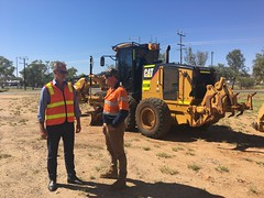 Stuart Highway upgrade, Alice Springs, 10/12/2108