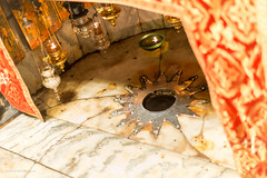 Church of the nativity Bethlehem-1477 (toniertl) Tags: bethlehem churchofthenativity israel2017 toniphotoxoncouk ancient icons westbank palestine christian faith religion worship art adoration orthodox catholic armenian shared birth jesus legend silverstar