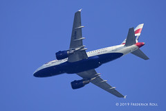 British Airways A318 ~ G-EUNA (JFK→LCY) (© Freddie) Tags: essex thurrock grays britishairways ba oneworldalliance airbus a318 a318112 geuna jfklcy ba2 speedbird2 fjroll ©freddie