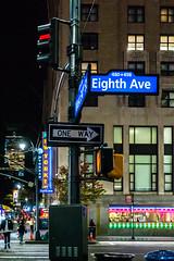 Waiting for the Lights (Jocey K) Tags: sonydscrx100m6 triptocanadaandnewyork architecture street people newyorkerhotel hotel cab car illuminations signs