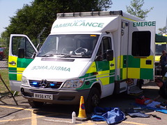 6303 - SECAS - RX56 KTC - 101_1904 (Call the Cops 999) Tags: uk gb united kingdom great britain england 999 112 emergency service services vehicle vehicles brooklands museum open day bank holiday monday 5 may 2018 ambulance secas south east coast