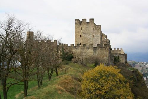 Château de Tourbillon / Tourbillon Castle / Замък Турбийон