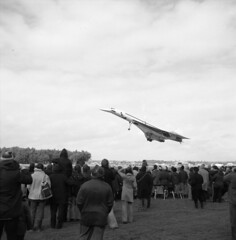 Alf087 Concord take off c1970's Airshow Photo's by Alf Jefferies (Photos by Alf Jefferies) Tags: planes aircraft bentwaters photos by alf jefferies usaf cold war nato air arm england