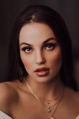 Ilmi (AlexanderHorn) Tags: beauty beautiful portrait fashion style eyes face woman girl lips moody look