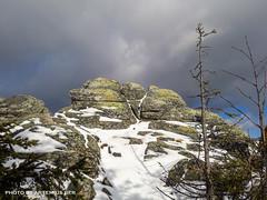 Rocks. Taganay (Artemius Ber) Tags: taganay таганай урал ural winter snow mobilephoto sky mountain rocks stone