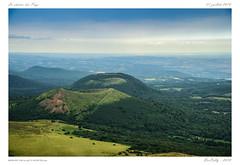 La chaîne des Puys (BerColly) Tags: france auvergne puydedôme volcans volcanoes horizon ciel sky nuages clouds été summer gr bercolly google flickr