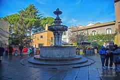 Viterbo Piazza Del Gesù (Michele Monteleone) Tags: viterbo tuscia arte architettura fontana acqua piazza strada michelemonteleone canon 5dmarkiii gesù