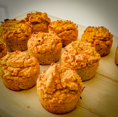 2019.02.08 Low Carbohydrate, Healthy Fat Pumpkin Muffins with Cream Cheese Filling, Washington, DC USA 09741
