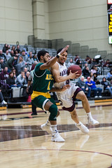 Ramapo's Men's Basketball Defeats NJCU in Key NJAC Game (ramapocollege) Tags: students bradley athletics winter 2019