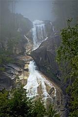 Waterfall (sswj) Tags: britishcolumbia canada composition landscape availablelight existinglight naturallight scottjohnson dslr fullframe nikon d600 nikkor28300mm rockformations mist