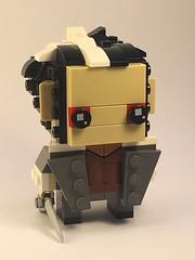 Sweeney Todd Brickheadz (Spawnwrithe) Tags: lego brickheadz afol moc creation figure burton sweeney todd barber razor serial killer