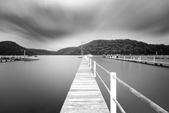 Walking on water (Martin Snicer Photography) Tags: bnw monochrome long exposure longexposure blackandwhite canon 70d wideangle