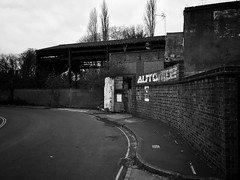 Brent Way, Brentford (dominicirons) Tags: brentford westlondon redevelopment brentway blackwhite blackandwhite