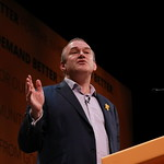 Ed Davey speaking at rally 1 thumbnail