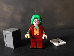 Joker (Joaquin Phoenix version) (bricksfreaks) Tags: bricksfreaks bricks gotham dc dccomics custom comics customlego customminifigures customfigures minifigures minifigs lego superheroes supervillains figures freaks joker