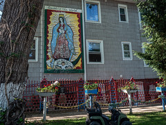 Avondale, Chicago (Thomas Edward Osborne) Tags: chicago godblessamerica queenoftheworld house madonna