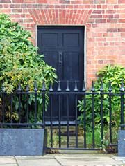 Piermaster's House, Royal Albert Docks, Liverpool, UK (teresue) Tags: 2017 uk england merseyside liverpool royalalbertdocks united kingdom piermastershouse door