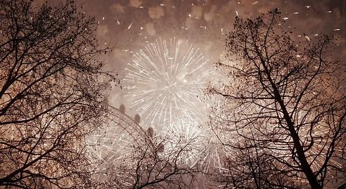 2019 London New Year Fireworks
