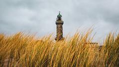 Leuchtturm Warnemünde (christopherbischof) Tags: lighthouse leuchtturm ostsee ostseeküste ostseestrand düne natur strand himmel gebäude deutschland germany