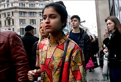 `2505 (roll the dice) Tags: london westminster westend w1 lights christmas cold streetphotography pretty sexy girls oxfordstreet portrait strangers candid natural wisdom shops shopping people makeup fashion colour crowd busy mad sad fun funny bored happy reaction urban unaware unknown england classic uk art smile canon tourism tourists shock sale bargain magic brave asian indian close lips eyes music flat flowers shapes