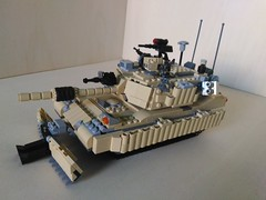 Lego M1A3 Abrams SEP V.3-TUSK 2 MBT (Parm Brick) Tags: lego military army moc afol tank vehicle abrams tusk2 sep3 usa m1a3 m1a3abrams