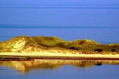 The north end of Walney (billnbenj) Tags: barrow cumbria walneyisland sandhills sanddunes reflection irishsea