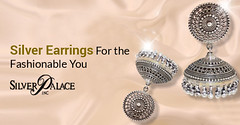 Silver Earrings For the Fashionable You (incsilverpalace) Tags: buy best silver wedding bands stud earrings price