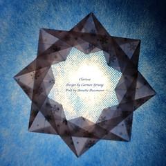 Clarissa (AnkaAlex) Tags: origami origamiart origamistar modulorigami modular modul star paperfolding paper paperfoldingart carmensprung bluestar
