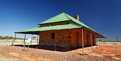 Tennant Creek Telegraph Station (Rob Harris Photography) Tags: australia red redcentre remote outdoors outback country tourist tourism roadtrip travel nature northernterritory colours communications telegraph overlandtelegraph buildings history historical conservation reserve sunny bluesky
