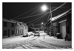 Harnes sous la neige, Le 23 janvier 2019. (christophe.leroy19) Tags: neige snow hiver winter harnes villeharnes villedeharnes hautdefrance pasdecalais noirblanc noiretblanc nb bw blackwhite blackandwhite