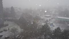 Snow Storm - heftiger Schneesturm (eagle1effi) Tags: canon powershot g7 x mark ii canonpowershotg7xmarkii snow storm tübingen foredflash experiment bestof g7xiibest alo auto lighting optimizer strong