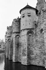 Edit -1-13 (Dane Van) Tags: gravensteen gravensteencastle ghent belgium ghentbelgium film analog shootfilm ilford hp5 ilfordhp5 canon rebelti eos 300v 35mm travel europe