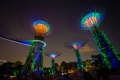 Gardens by the bay light show, Singapore (CamelKW) Tags: gardensbythebay lightshow singapore