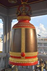 The Bell at Buddhist Temple, Bangkok. (Manoo Mistry) Tags: bangkok thailand holiday nikon nikond5500 tamron tamron18270mmzoomlens buddhist buddha buddhism buddhisttemple