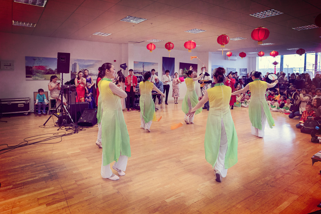 YEAR OF THE PIG - LUNAR NEW YEAR CELEBRATION AT THE CHQ IN DUBLIN [OFTEN REFERRED TO AS CHINESE NEW YEAR]-148946