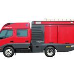 GFRP製消防ポンプ車の写真