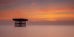 Sizewell Cooling Tower Suffolk. (Albert's Photo's) Tags: sizewell shaw graham canon 5d mk2 lee long exposure sea north east anglia sunrise beach suffolk mkii nuclear power