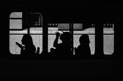 Pasajeros (natan_salinas) Tags: valparaíso valpo streetphotography fotografíaurbana fotografíacallejera bw blackwhite blanconegro bn blancoynegro blackandwhite monocromático monochrome nikon gente d5100 urbe urban city ciudad portrait retrato urbano noiretblanc pasajeros passengers street calle 50mm people luz light shadow sombras contraluz chile tres silhouette silueta