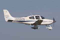 N852CD Cirrus SR22 on 14 February 2019 Jersey (Jersey Aviation Images 2020) Tags: aircraft airplane aeroplanes aeroplane aircraftspotters aviation planes flyingmachines