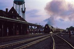 Manassas (jameshouse473) Tags: nw 611 j manassas virginia va summer evening sunset train railroad railway southern norfolk western passenger excursion depot station 1984