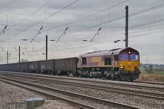 Shipton Gypsum (JohnGreyTurner) Tags: br rail uk railway train transport db dbc dbs ews 66 class66 shed diesel engine locomotive shipton beningborough yorkshire north