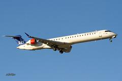 IMG_1610@L6 (Logan-26) Tags: bombardier cl6002d24 regional jet crj900lr eifpg msn 15406 scandinavian airlines sas riga international rix evra latvia aleksandrs čubikins blue sky fly flying