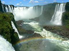 Iguazu Falls, Argentina (iwys) Tags: iguazu falls waterfall argentina rainbow landscape breathtaking scenery tropical rainforest