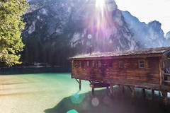 lago di braies (marco_brst) Tags: trentino amazing landscape lake nature sun natura italy travel