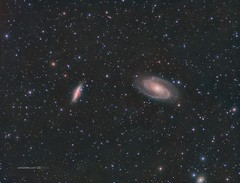 Bode's and Cigar Galaxies (M81&M82) in LRGB (Carballada) Tags: astrophotography astrophoto redditastro astronomy deep space astro celestron zwo as1600mmc skywatcher ts sky qhy qhy5iii174 pixinsight galaxy galaxies deepspace telekopeservice narrowband hstpalette mach1 astrophysics