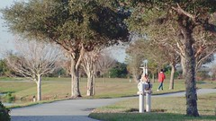 Girl walking dog (Ricardo's Photography (Thanks to all the fans!!!)) Tags: video b roll anthem park florida nature sony saintcloudfl centralflorida cinematic videolibrary freevideos 1080pvideos 1080p freefootage footage sonyvideos