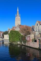 Brugge (Brian Aslak) Tags: brugge bruges westvlaanderen vlaanderen flandre flanders belgië belgium belgique europe town dijver canal