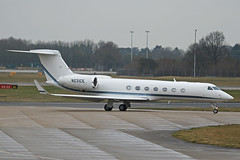 N231CE Gulfstream GV-SP Stansted 02nd March 2019 (michael_hibbins) Tags: n231ce gulfstream gvsp stansted 02nd march 2019 business corporate corp corps executive exectuive jet jets aeroplane aerospace aircraft aviation airplane aero airfields airport airports civil commercial plane planes