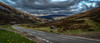 Bridge of Cally A93 road to Glenshee and Braemar, Cental Highlands, Scotland