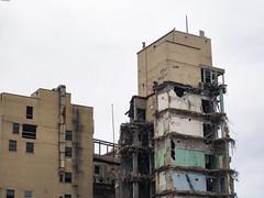 Edgewater Medical Center Demolition (JoshTinoco) Tags: chicago edgewater hospital abandoned decay demolition ruins building